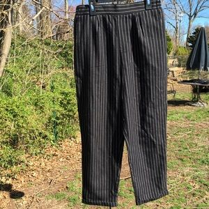 NWT Forever21 Striped Cuffed Pants